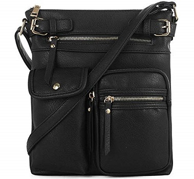 SG SUGU Katie Lightweight Medium Crossbody Bag